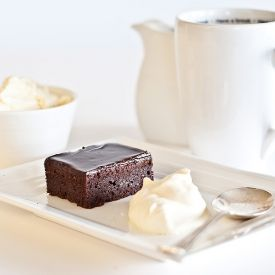 Moist, rich, delightful and more importantly gluten-free chocolate brownies.