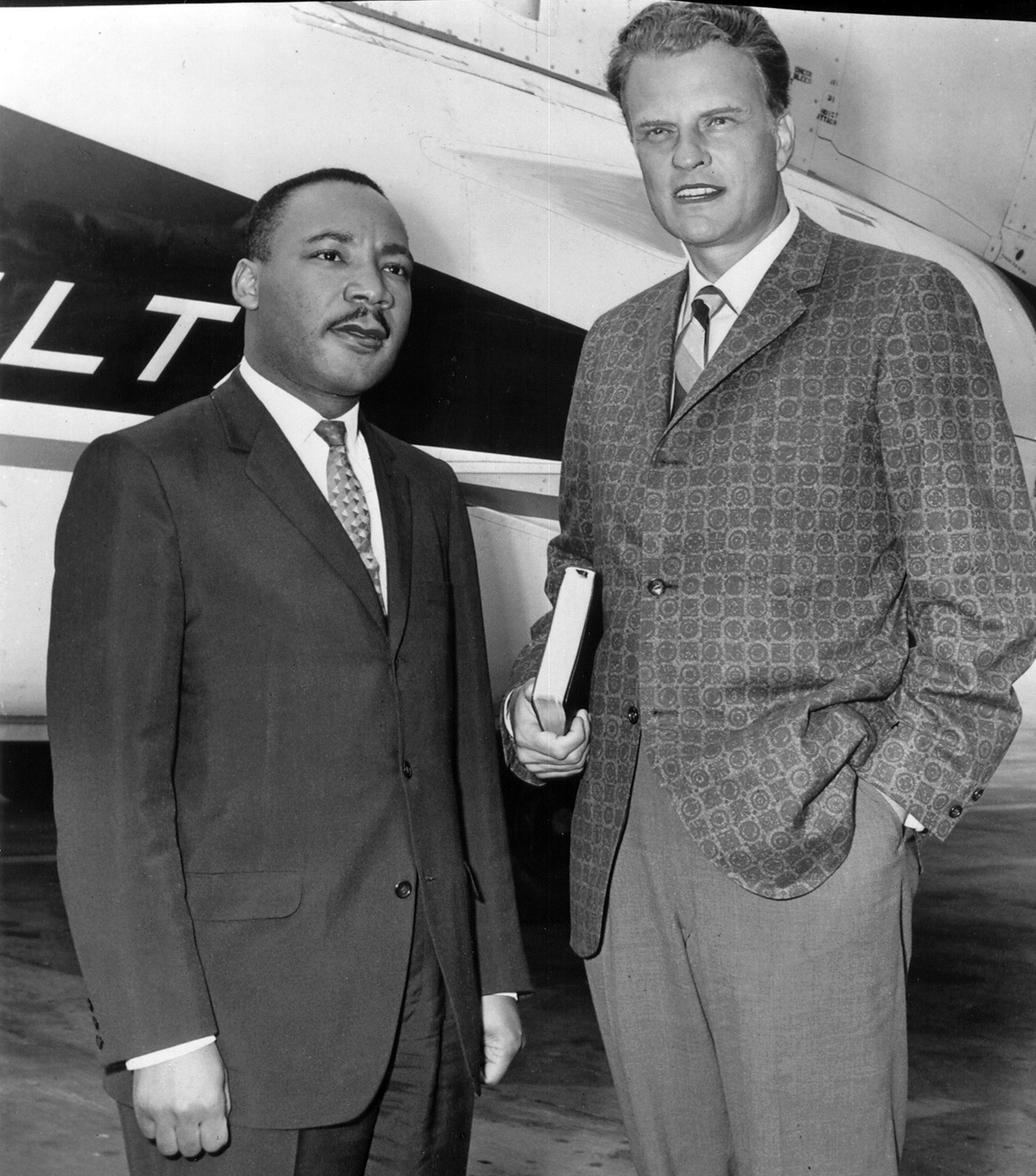 Billy Graham Invited Martin Luther King To Pray At The