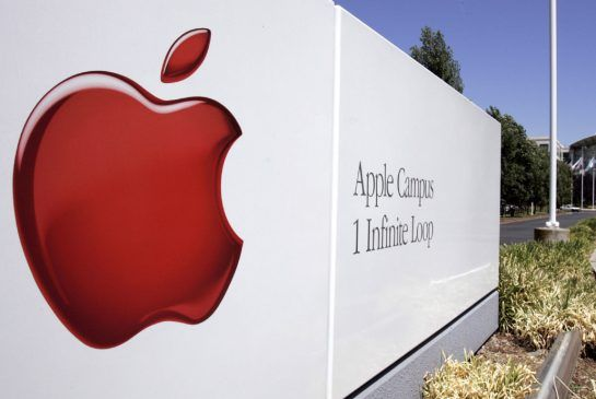 Apple's headquarters in  Cupertino, Calif., where patent applications and spending on research and development are increasing rapidly.