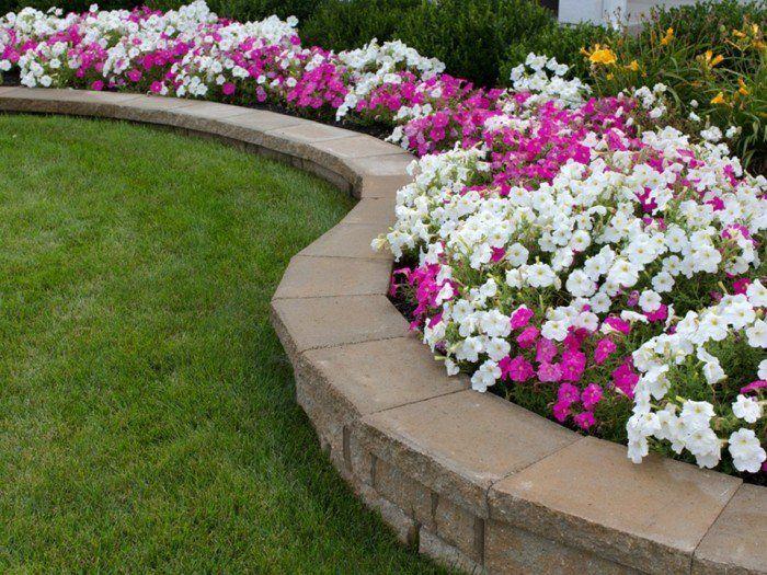 1001 conseils et mod les pour cr er une parterre de fleurs jardin pinterest parterres de. Black Bedroom Furniture Sets. Home Design Ideas