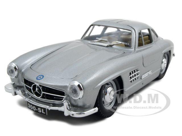 1954 mercedes 300 sl gullwing diecast car model 1 24. Black Bedroom Furniture Sets. Home Design Ideas