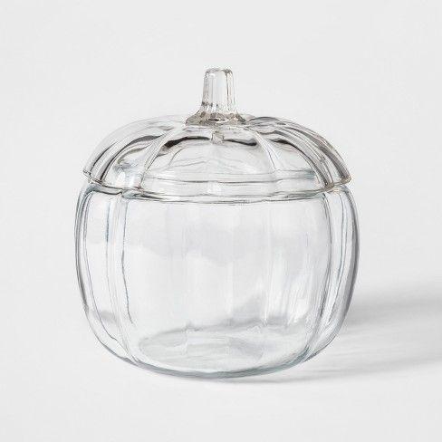 70oz Halloween Glass Pumpkin Jar with Lid  Target Home Decor in
