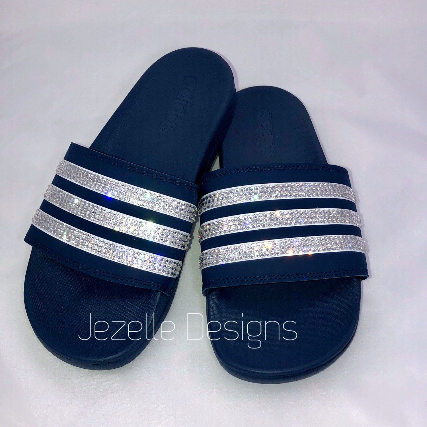 cefda3fa424a Bling Adidas Slide Sandals - Super Cushy! Amazingly Comfortable ...