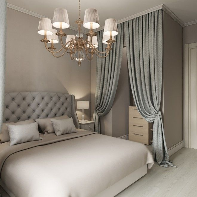 Das Schlafzimmer Apartment Interieur, klassisch