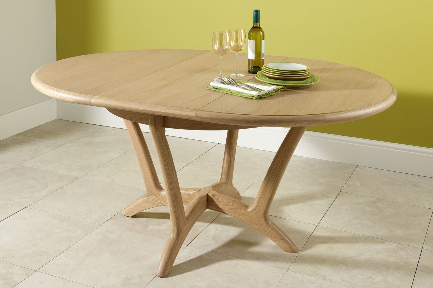 Simple Extending Dining Table And Chairs