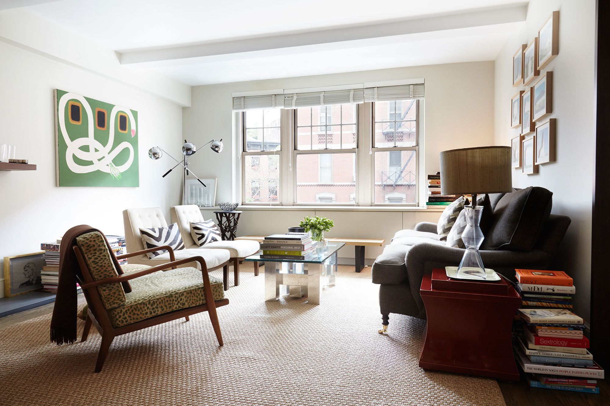 Peter Som\'s New York City Apartment | Apartments, Living rooms and Room