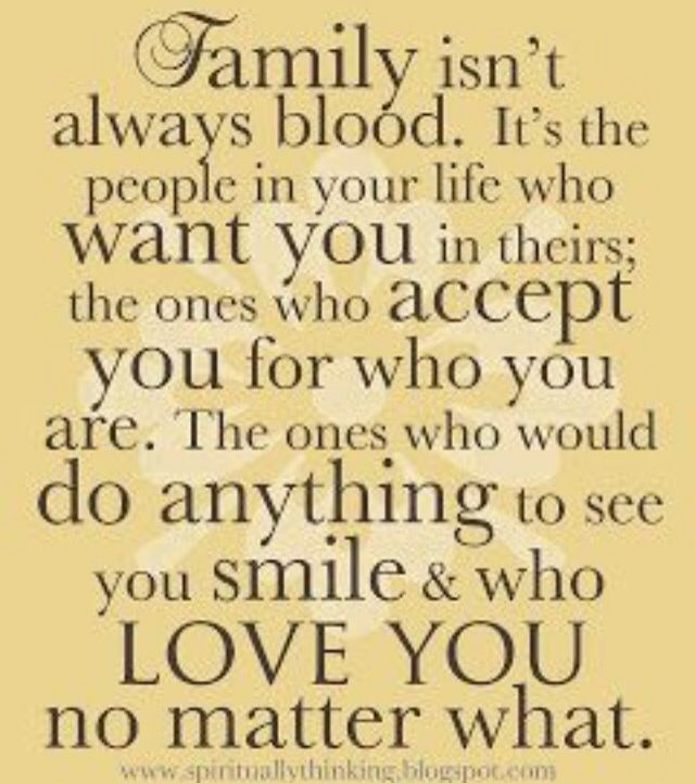 Perfect saying DNA doesn't make family love does and even