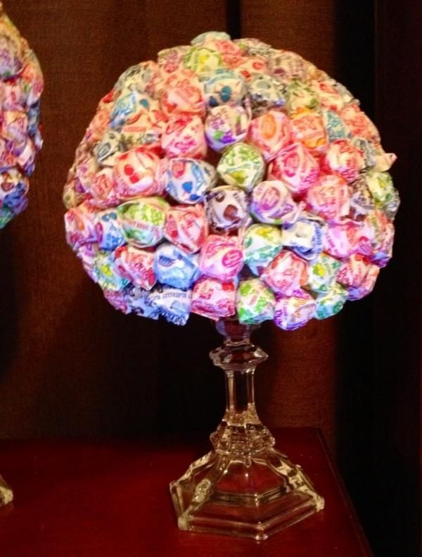 Rock candy centerpieces for weddings centerpiece