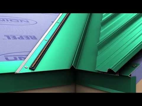 How To Install A Metal Roof Valley For Union S Masterrib Panel Metal Roof Roof Installation Corrugated Metal Roof