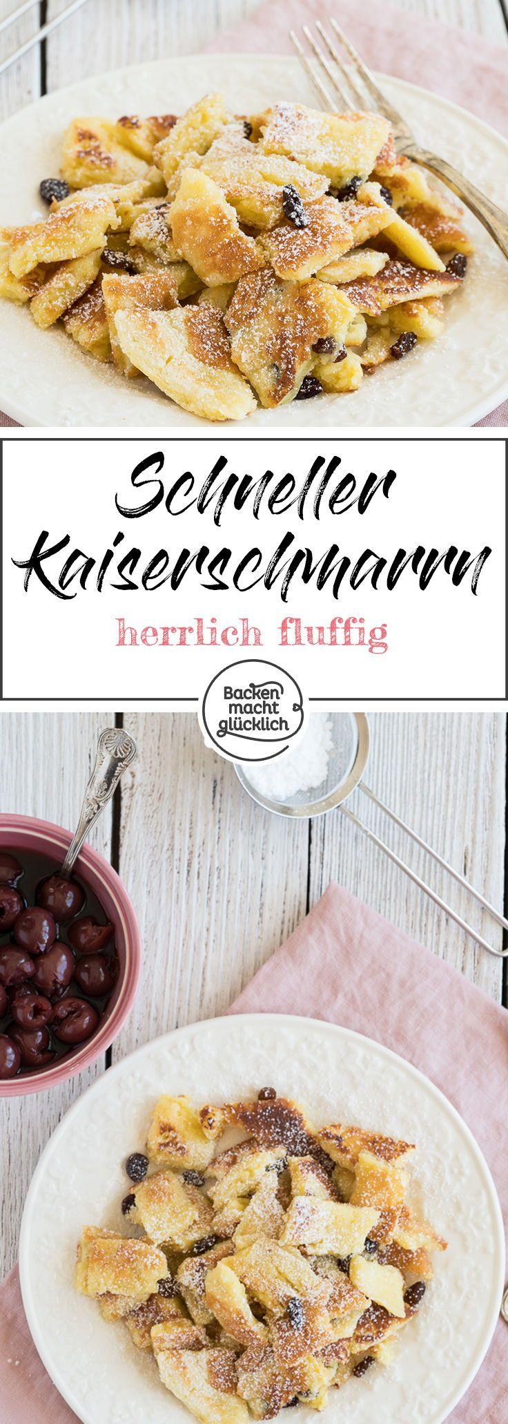 Kaiserschmarrn Rezept Kaiserschmarrn Rezept Rezepte Kaiserschmarrn