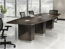 Z48120be Zira Series Rectangular Boardroom Table By Global Modern Conference Table Conference Table Conference Table Design