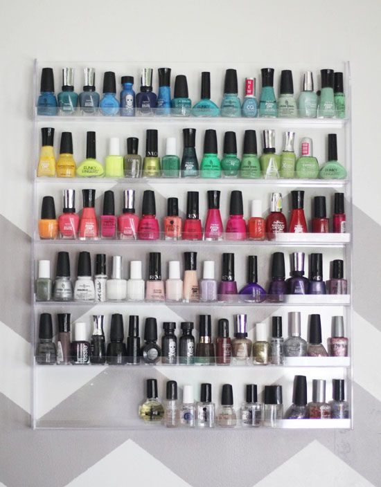 Perhaps excessive but I totally want a display/storage rack like this!