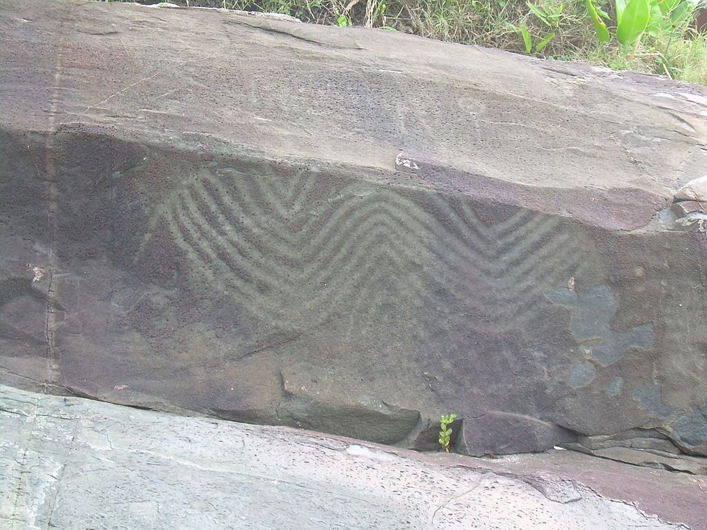 Figuras rupestres, Costão do Santinho, Florianópolis 2 - Petroglyph - Wikipedia, the free encyclopedia