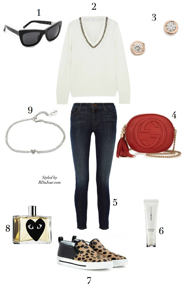 d7da30bc177 Outfit of the Day No473 MiH Jeans Blouse Astley Clark Star