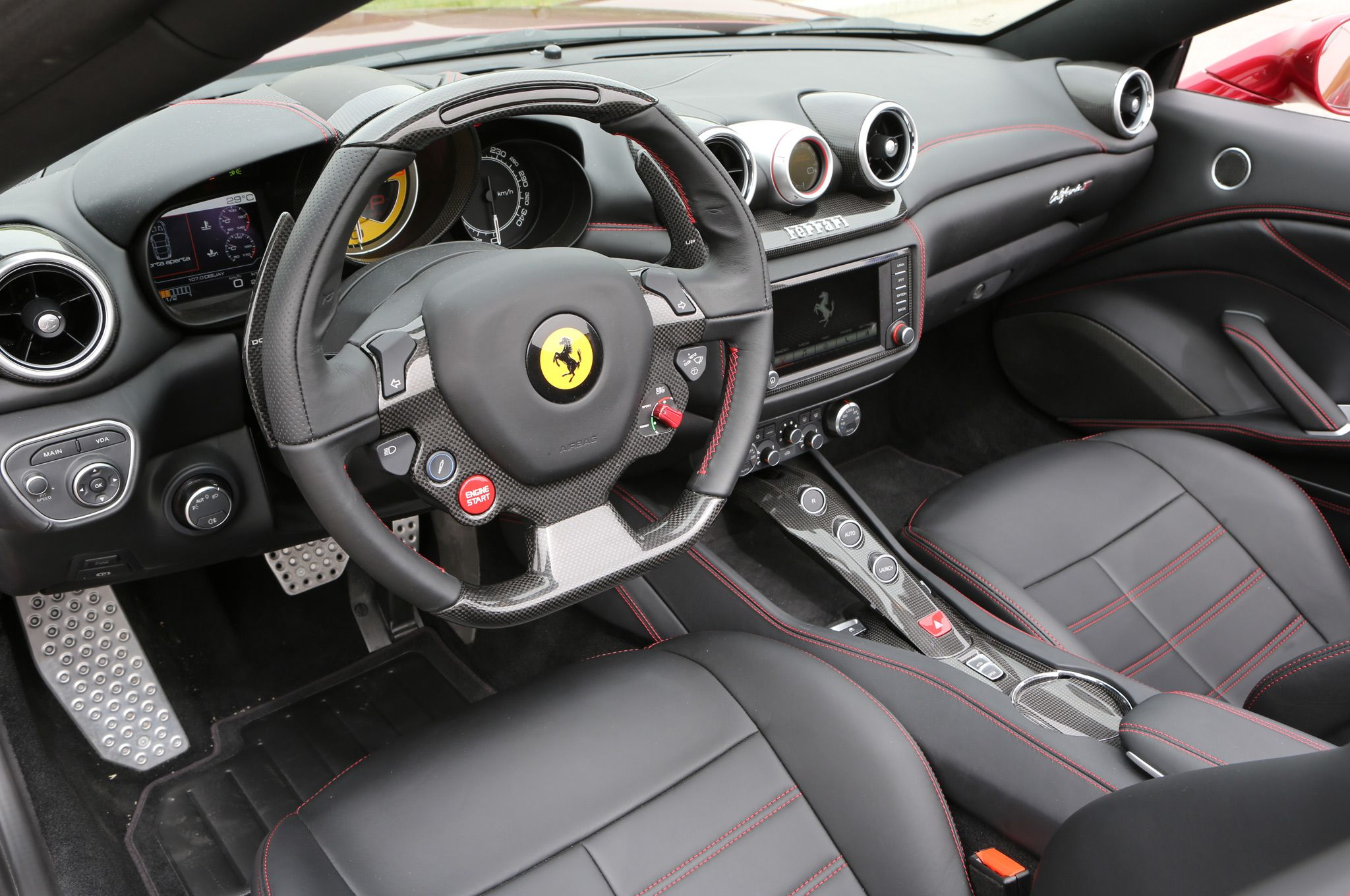2015 ferrari california interior | 2015 Ferrari California T ...