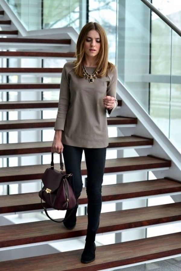 506e1865156 Might be too casual. Like the colors together and the style of the pants  with a looser top.