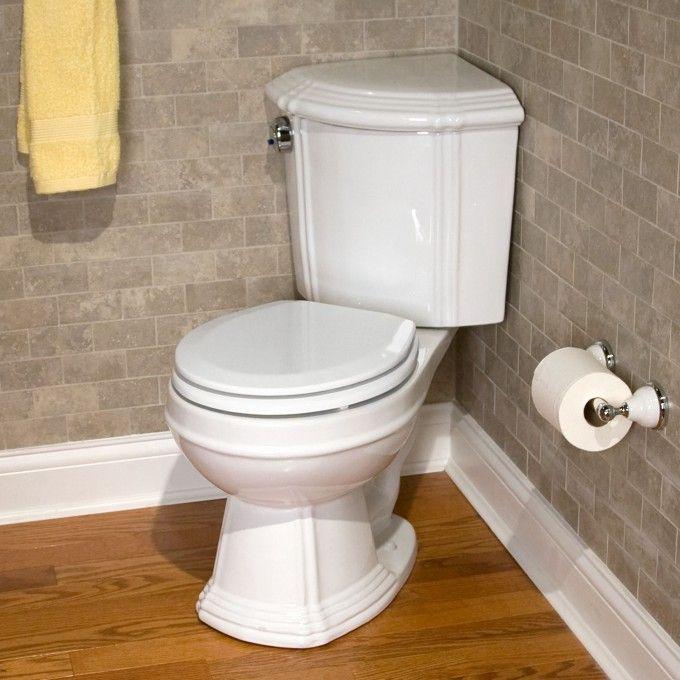 Vintage Toilets Dual Flush Regent Corner Toilet