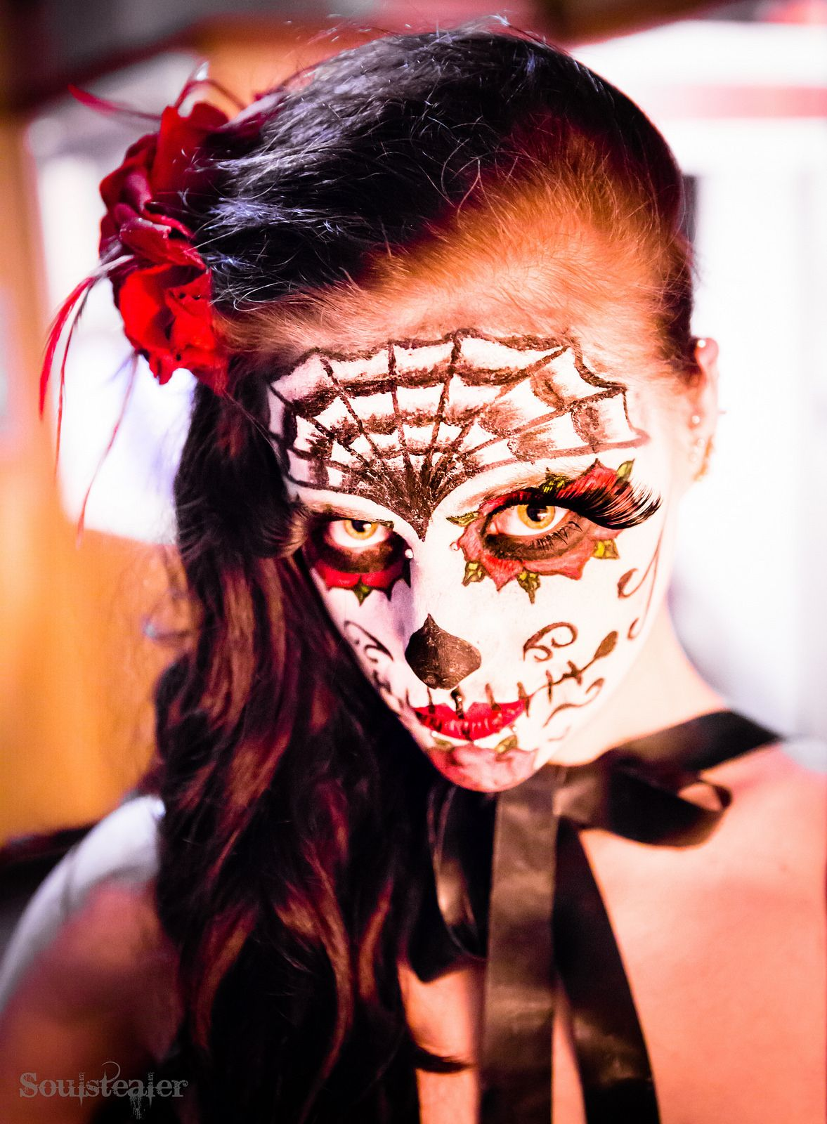 Mexican Eyes Halloween face makeup, Halloween face, Face