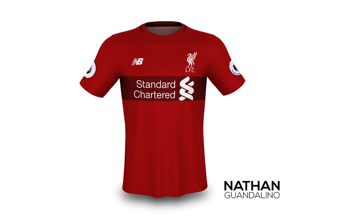 6f8767087 Concept Kit  Liverpool FC - New Balance 2017 2018 on Behance