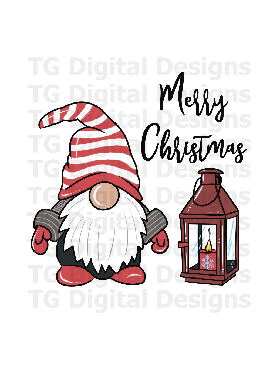 Christmas Gnome Png Christmas Gnome Sublimation Scandinavian Etsy Christmas Drawing Watercolor Christmas Cards Christmas Paintings