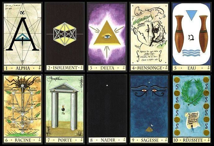 Oracle of the Triad  It is a great and very accurate deck