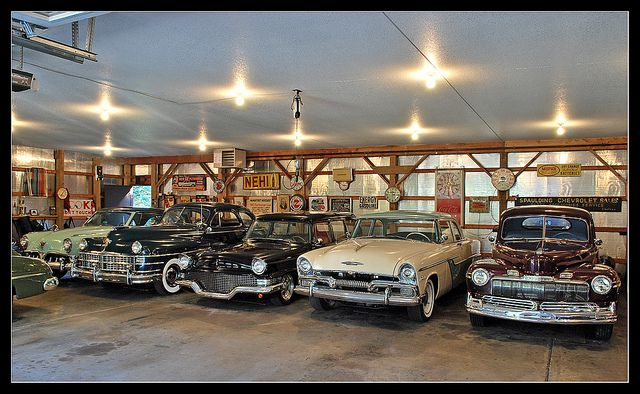 Classic car garage  Classic car garage Car garage and Cars