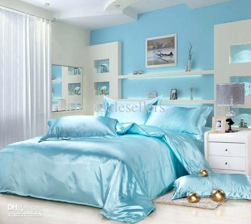Light Blue Bedroom Amazing Buy Silver Grey Bedding Set King And