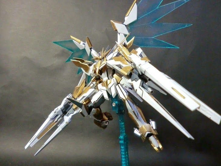 "Custom Build: 1/144 Reborns Gundam ""Lancelot"" Ver. Drei Zwerg Buster - Gundam Kits Collection News and Reviews"