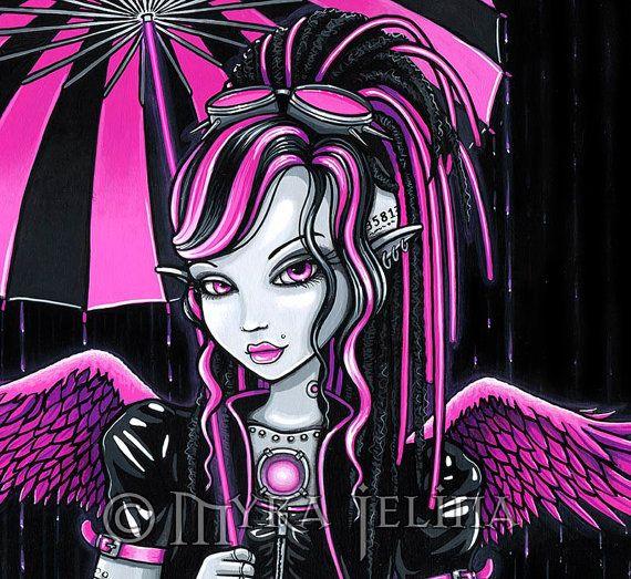 Cybergoth Fantasy Art