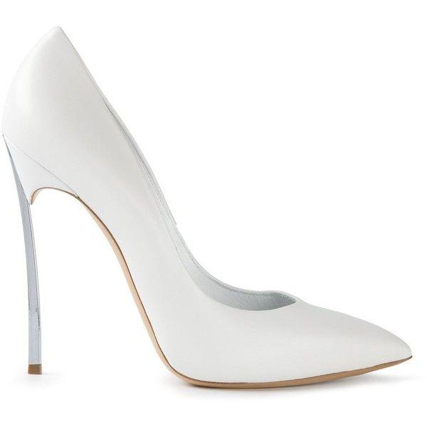 Pumps heels stilettos, White shoes heels