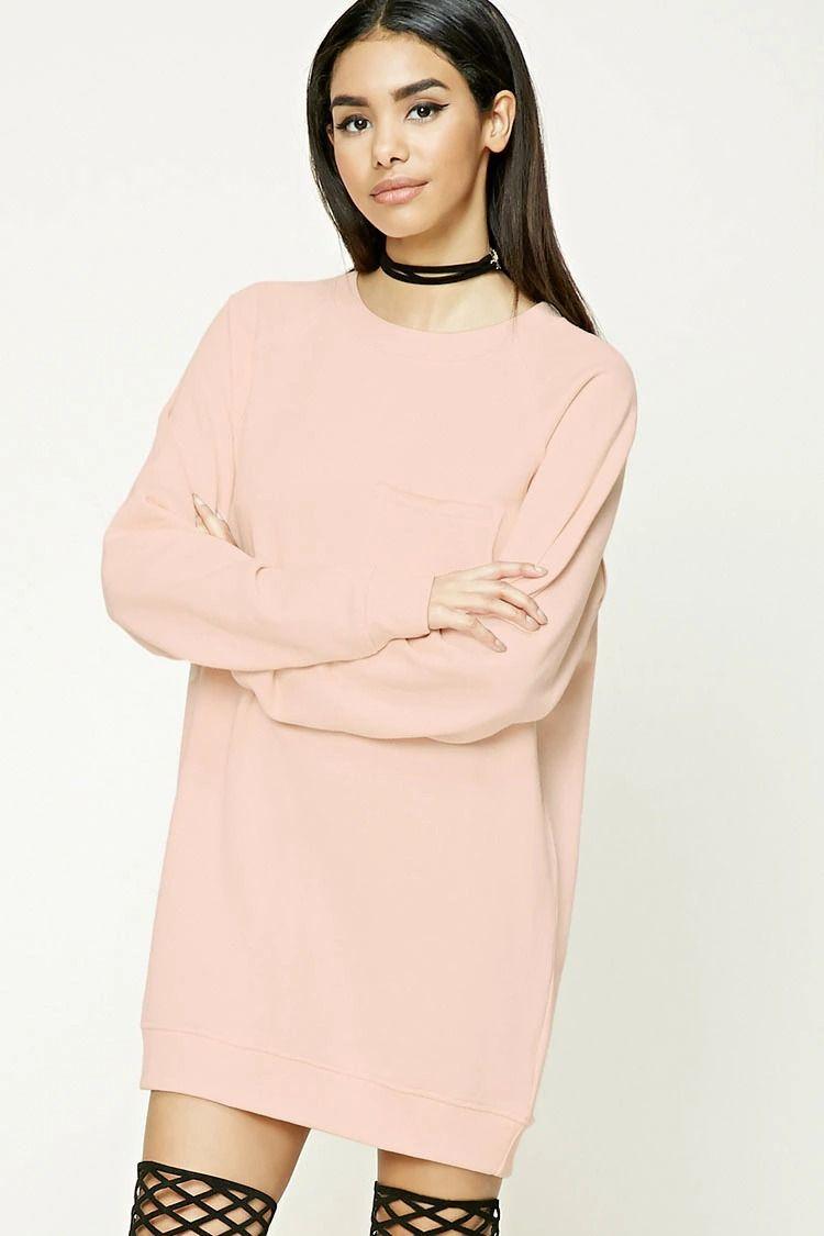 Raw-Cut Sweatshirt Dress | s h o p | Pinterest | Sudaderas y Vestidos