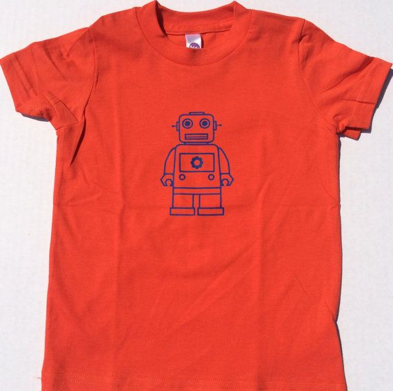 Robot Brian Kids Tee by TheVintageRobot on Etsy, $16.00