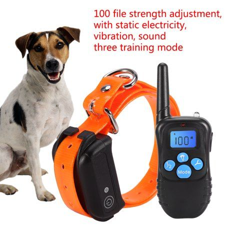 Pets Aggressive Dog Dog Shock Collar Stop Barking Collar