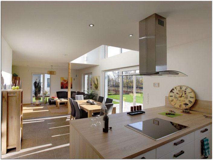 so sieht küche und wohnzimmer in einem modernen raum in 16