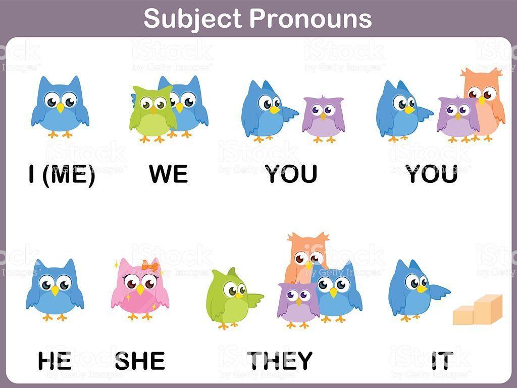 Subjects Pronouns Fun
