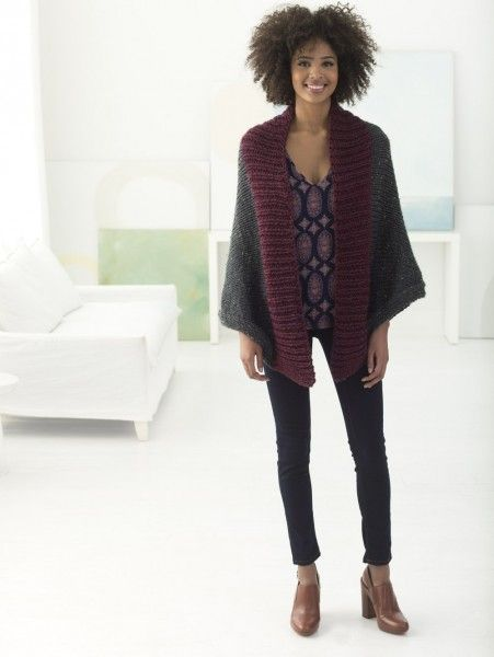 Your Knit Style Simsbury Shrug Made With Hometown Usa Yarns