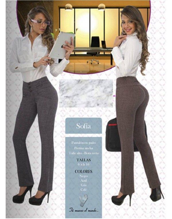 Pantalones Talle Alto De Vestir Buscar Con Google Pantsuit Clothes Fashion
