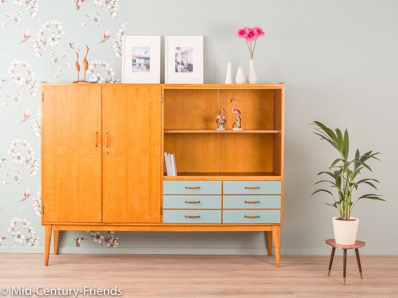 vintage kommoden 50er highboard sideboard 60er wk vintage ein home inspiration. Black Bedroom Furniture Sets. Home Design Ideas
