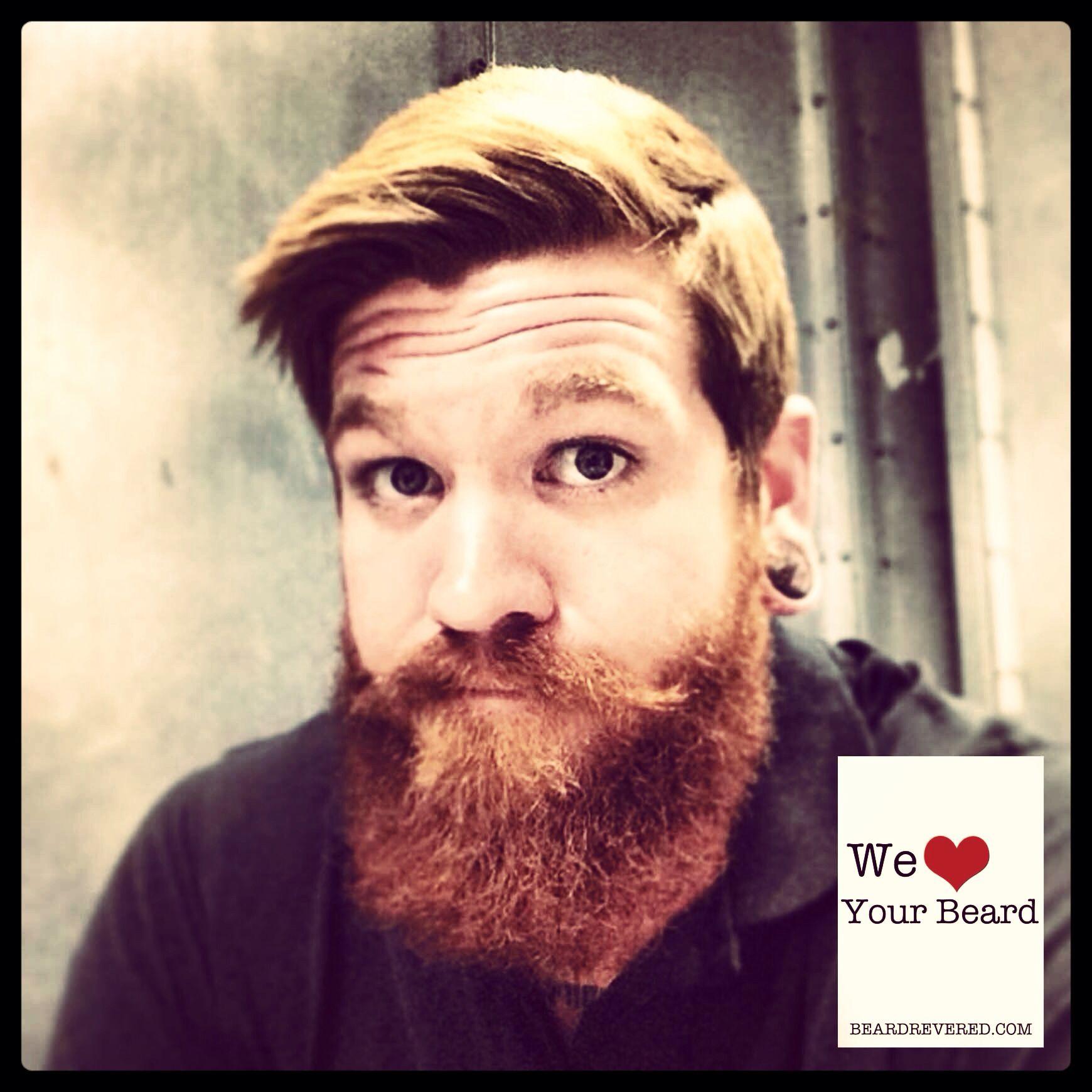 Redhead boy haircuts david banbury oxford beard beardrevered  we  your b e a r d
