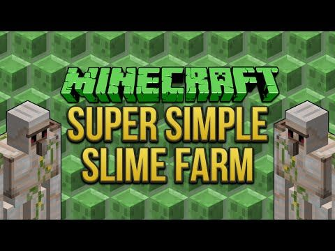 Minecraft super simple slime farm tutorial youtube minecraft minecraft super simple slime farm tutorial youtube ccuart Image collections