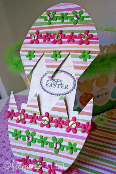 Crack Open Easter Egg Card Tutorial Living on the Crafty Side – Make Your Own Easter Cards
