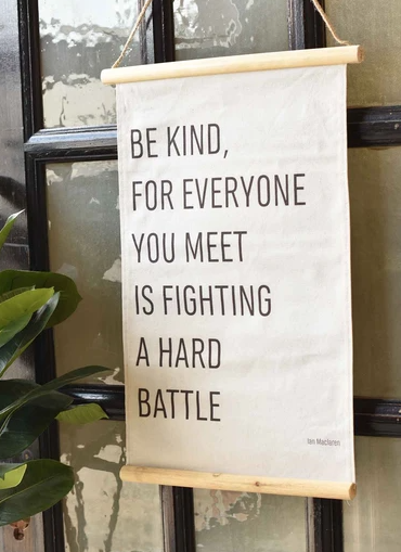 Photo of Be Kind Wall Hanging