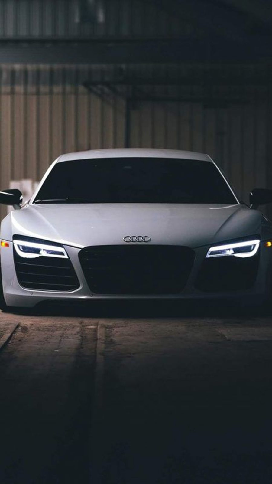 Audi Logo Hd Wallpaper For Iphone