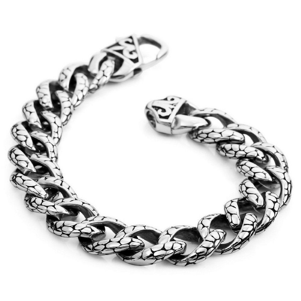 Motorcycle chain bracelet newest hot stainless steel bracelet