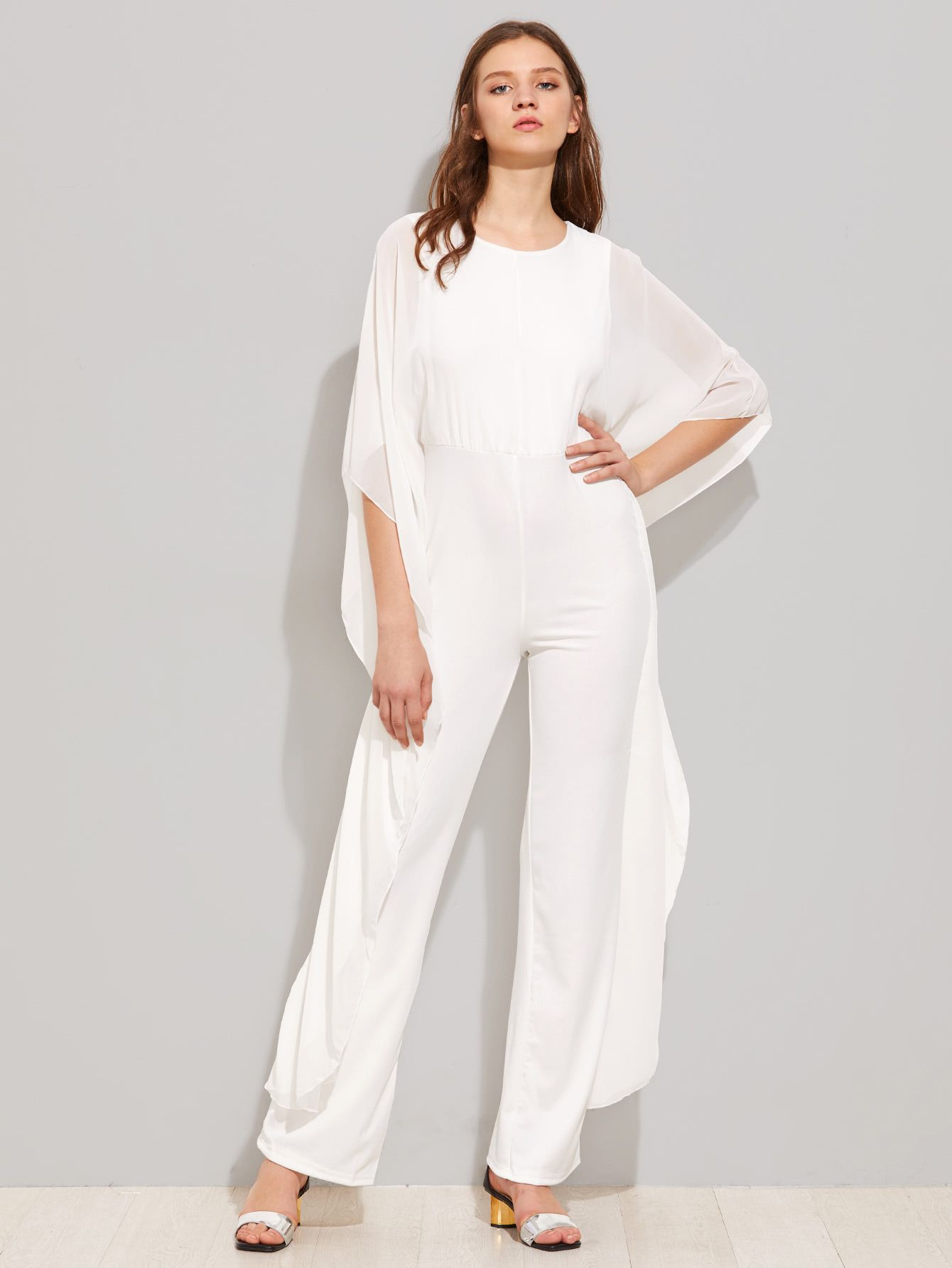 46ce3355a13 Shop Zipper Back Kaftan Jumpsuit online. SheIn offers Zipper Back Kaftan  Jumpsuit   more to fit your fashionable needs.