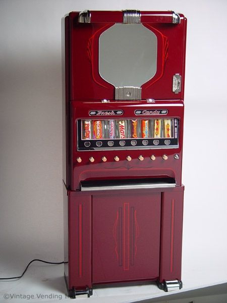 Restored 1940 S Stoner Candy Vending Machine We Had One These In