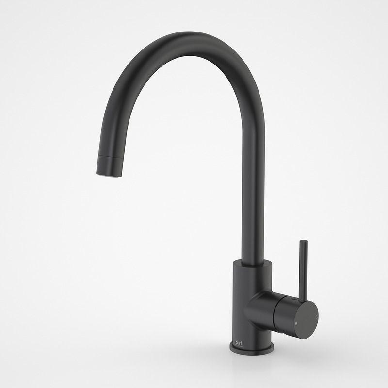 Dorf | Mixer Taps - Poseidon - Poseidon Sink Mixer Black ...