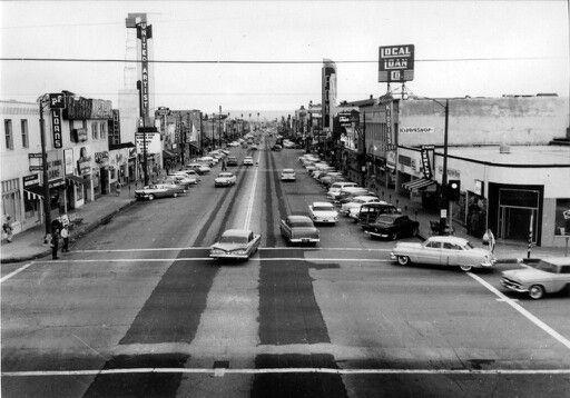 Market Street Inglewood Inglewood California United Artists Theater