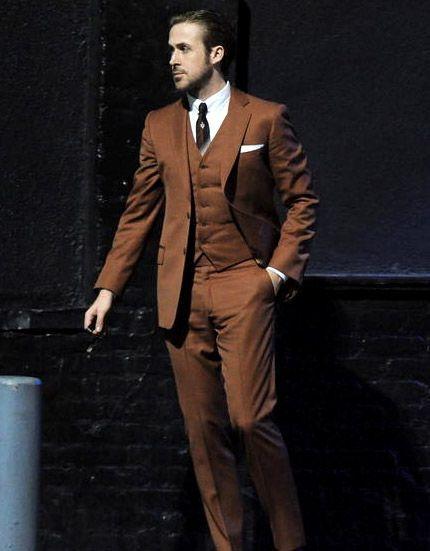 Brown Modern Fit Vested Men Suit | Modern Gentleman | Pinterest ...