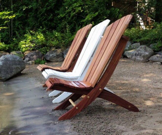 Adirondack 2 Piece Beach Chair Beach Chairs Portable Rocking Chair Pads Beach Chairs